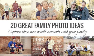 Family Portraits - Family Photo Ideas For Perfect Poses