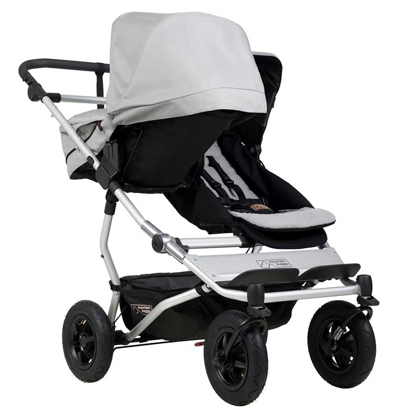 Twin Stroller Quinny Mountain Buggy Duet V3 Twin Stroller Buy Online