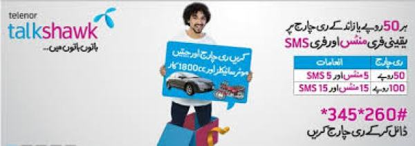 Telenor SMS Packages Daily, Weekly, 15 Days, Monthly