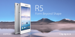OPPO R5 Price in Pakistan Specifications Features Pictures