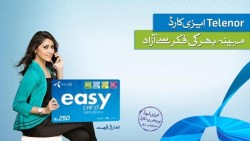 Telenor Easy Card Offer Fixed Minutes Sms and Internet Package