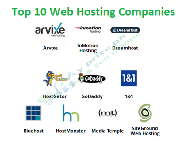 Top 10 Web Hosting Companies with Cheap Packages and Higher Resources