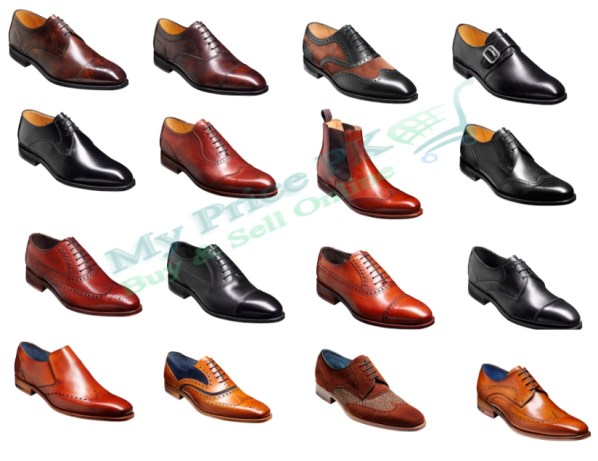 Barker Black Mens Handcrafted And Creative Shoes Collections For Winter Price In Pakistan Latest Designs Colors Images