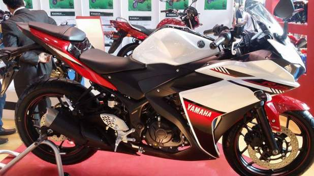Yamaha r25 2016 model 250cc bike price specifications for Yamaha sport bikes models