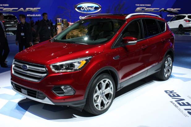 Ford Escape Titanium 2017 Model Car Price Specifications Features Photos and Review