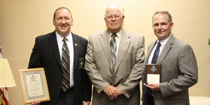 County Officials Honored at Masonic Lodge Awards Banquet