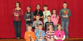 Vandervoort Elementary Spelling Bee Winners