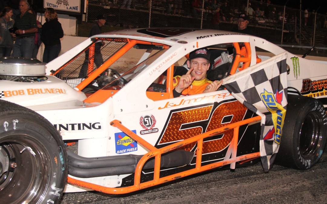"""Big Money"" Matt Hoping to Cash Another Big Check at Concord"