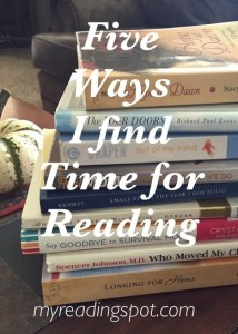 five ways I find time for reading