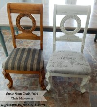 Chalk Paint Chair Makeover - My Recipe Confessions