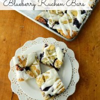 Blueberry Kuchen Bars