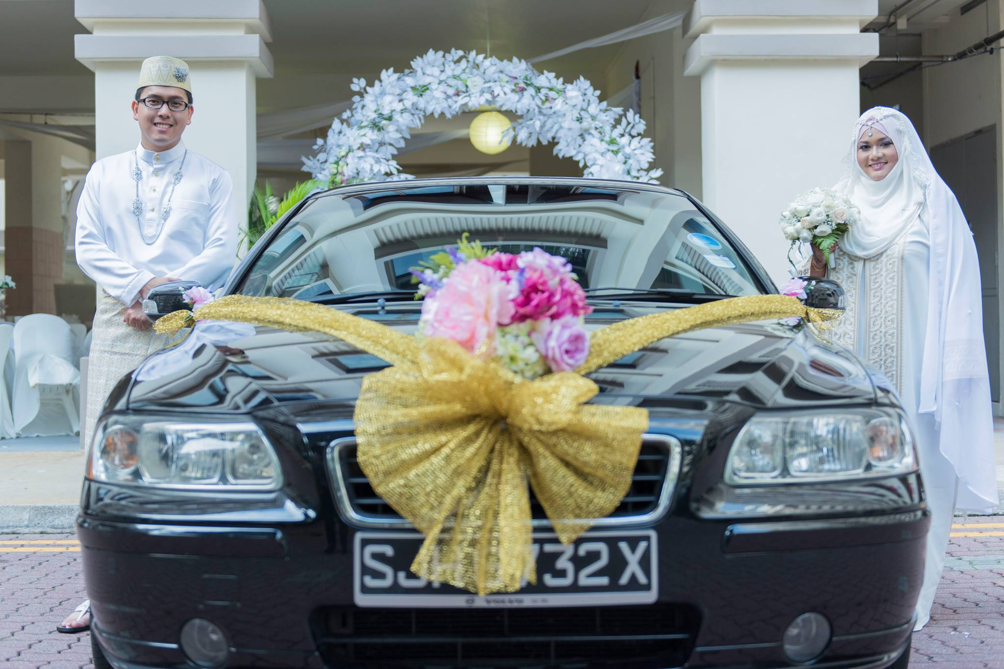 Car Decoration Weding Wedding Car Decoration Artificial Flowers