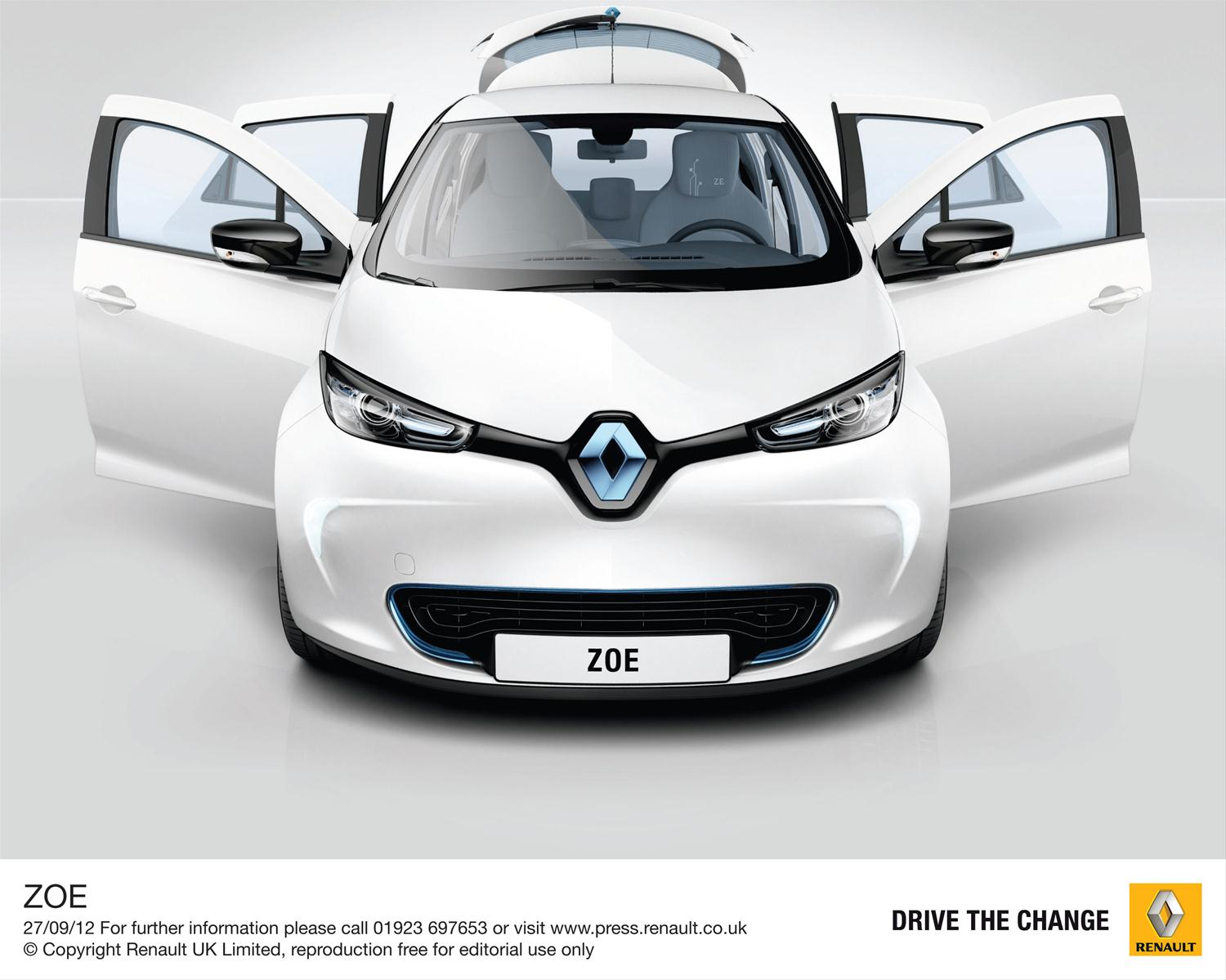 Electric Car Subsidy Uk Electric Supermini Zoe Drives The Change My Renault Zoe