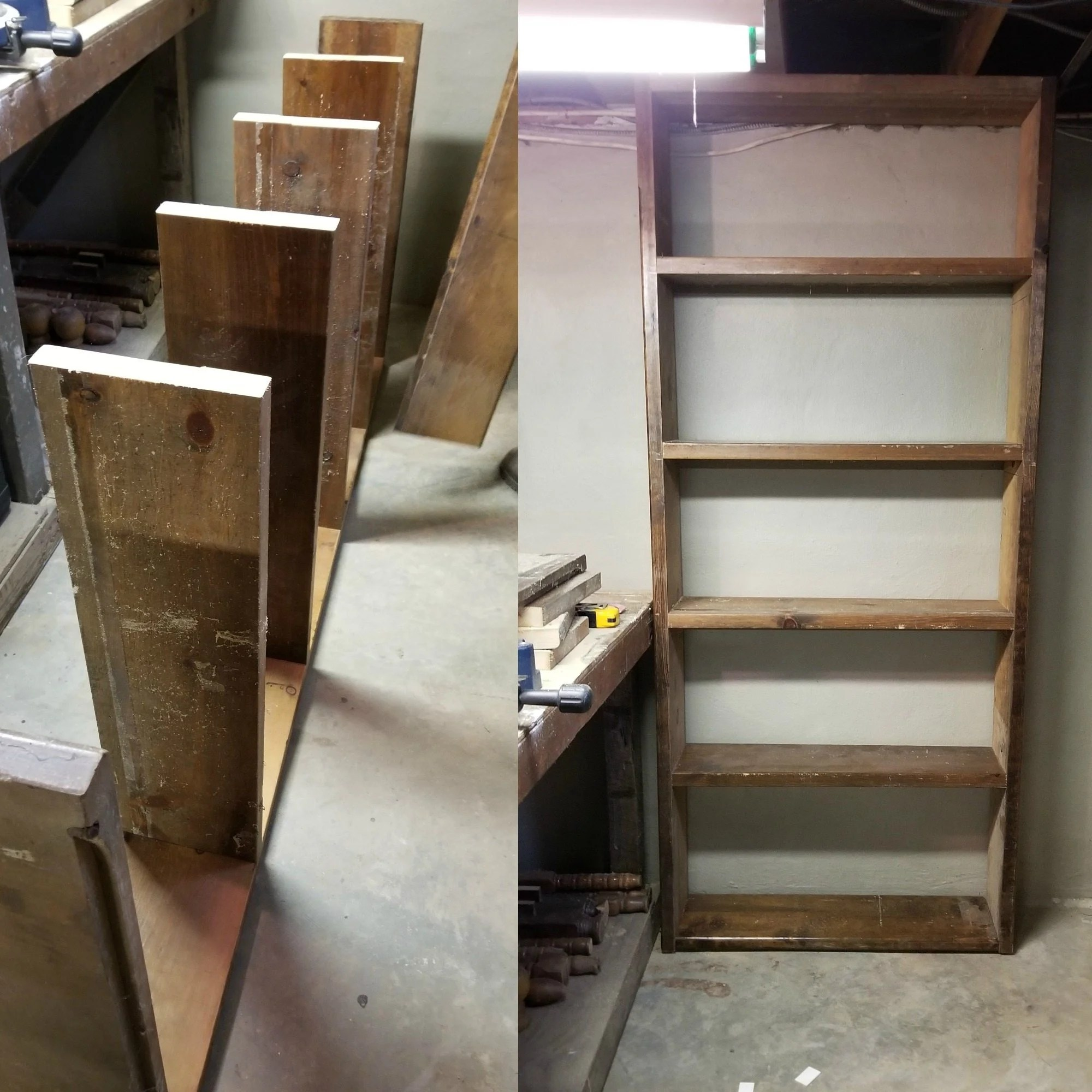 Shelving Shop Easy Build Storage Shelf For The Basement Shop My Repurposed Life