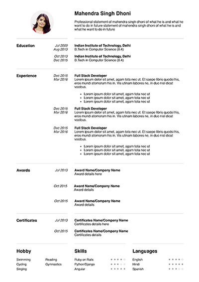 which format to save my cv