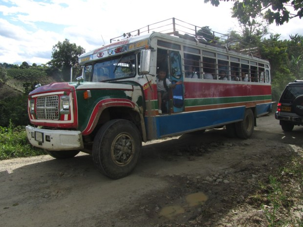 Local village bus