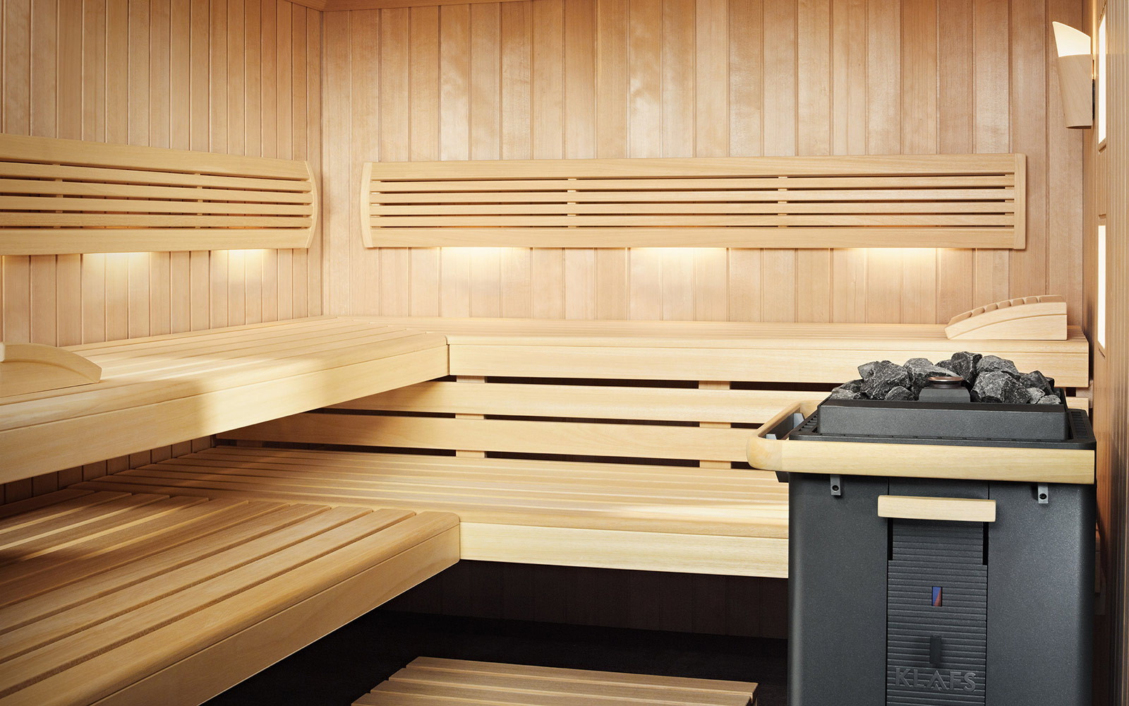 Klafs S1 Sauna Steam And Wellness For The Home By Klafs Installed By Guncast