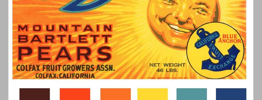 Vintage Color Formula: Sunshine and Large Labels