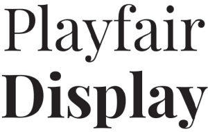 playfair_display_font