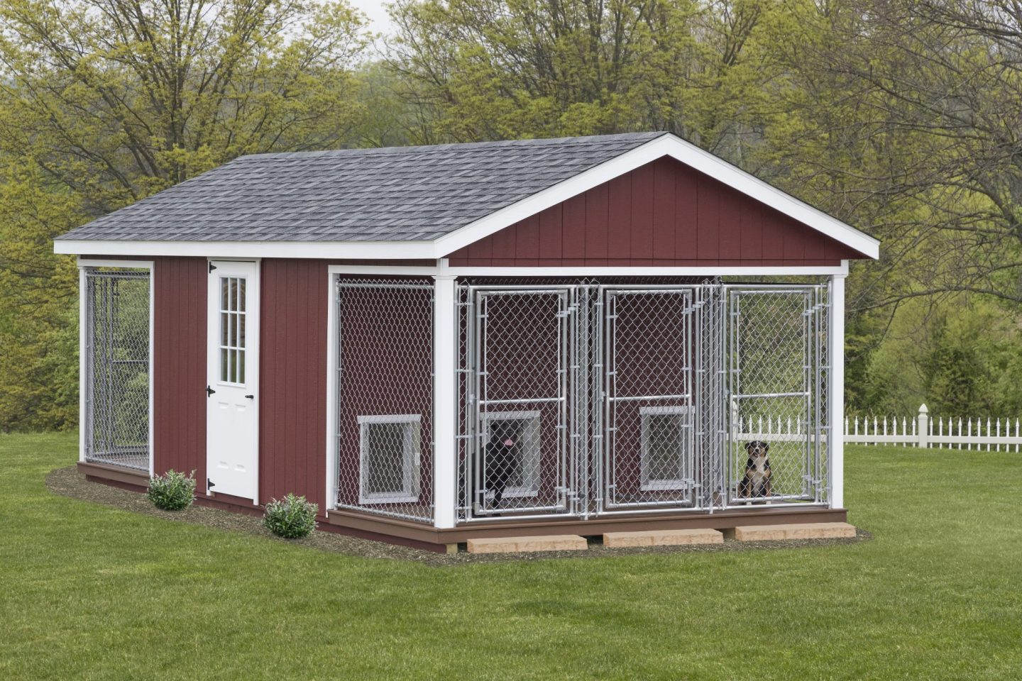Stoltzfus Structures Outdoor Dog Kennels | Dog Kennels For Sale | Stoltzfus