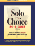 Cold Calls, Cold Beers & the Launch of Solo by Choice (2011 -2012)