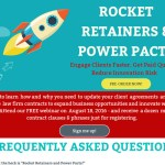 Announcing: Rocket Retainers & Power Pacts: Engage Fast, Get Paid Quickly and Innovate Without Risk