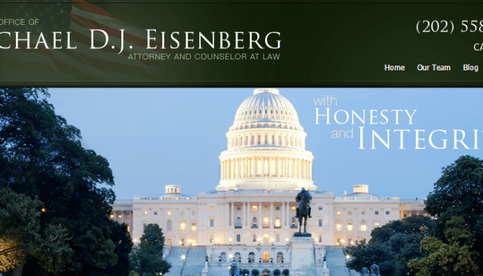 A Veteran Solo With A National Practice:  Meet Michael D.J. Eisenberg, Veterans' Benefits and Federal Employment Attorney