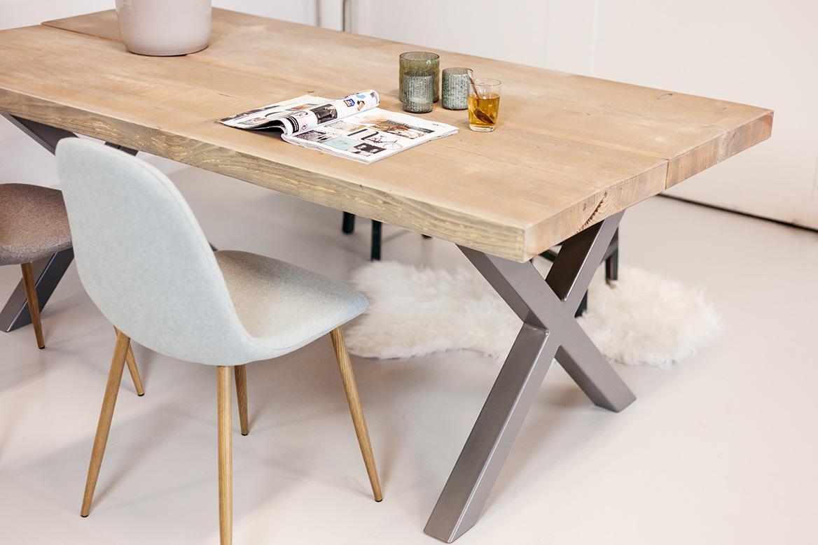 Hout tafel strakke tafel hout art sl