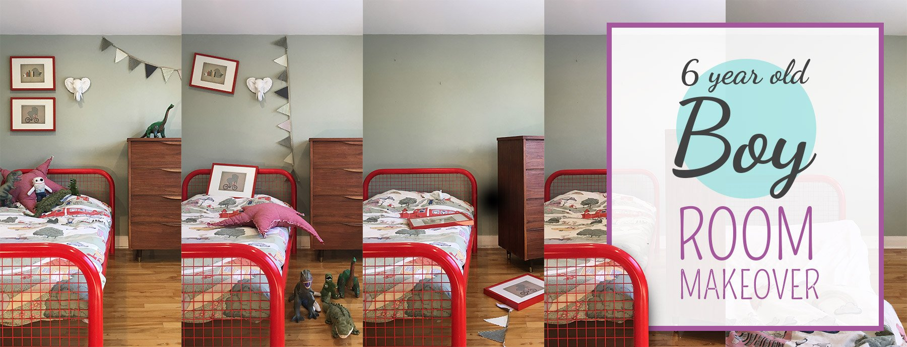 Boy Bedrooms 6 Year Old Boy Bedroom Makeover