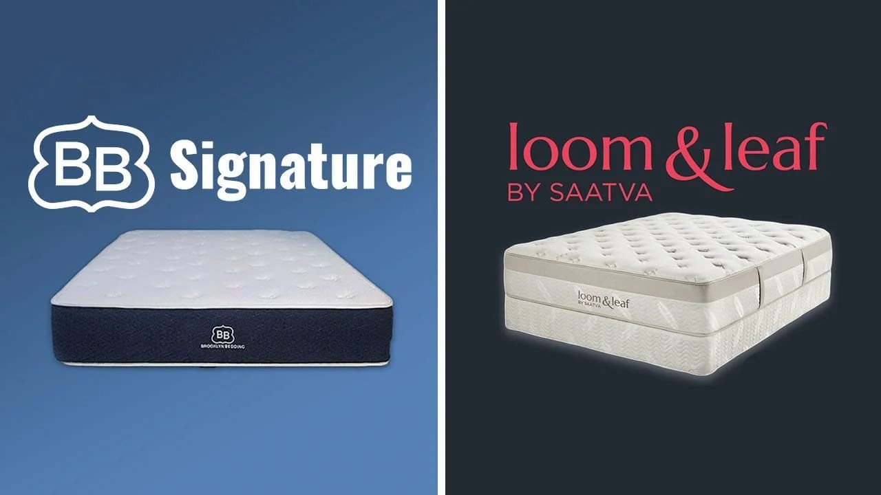 Helix Vs Loom And Leaf Loom Leaf Vs Brooklyn Bedding Mattress Full Review