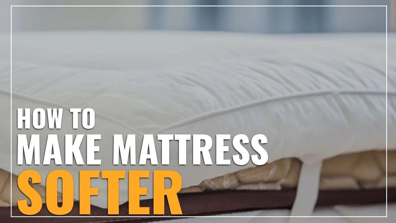 Memory Foam Mattress Too Firm How To Make A Mattress Softer 6 Tips To Fix A Firm Mattress
