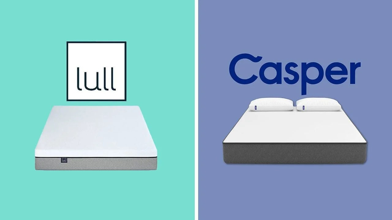 Land Of Beds Reviews Lull Vs Casper Mattress Comparison Review Updated