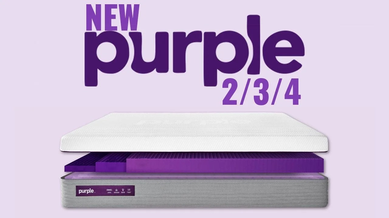 Purple Mattress Review New Purple Mattress Review 2 3 4 Models 2019 Update