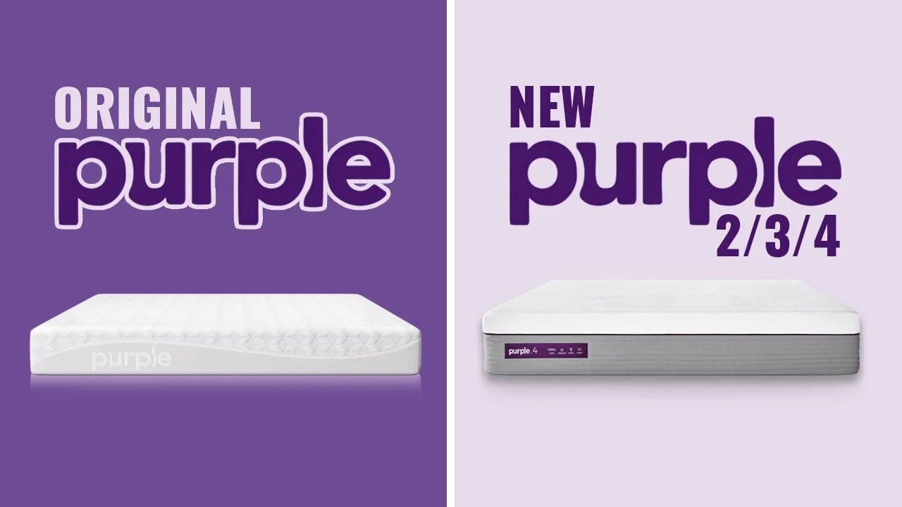 Best Traditional Mattress Purple Mattress Comparison Original Vs New 2 3 4 2019 Guide