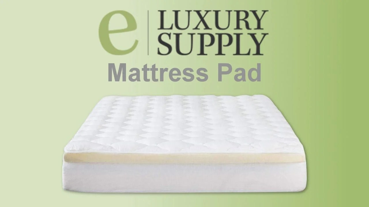 Extra Firm Mattress Topper Eluxury Mattress Pad Review Exceptionalsheets Usa