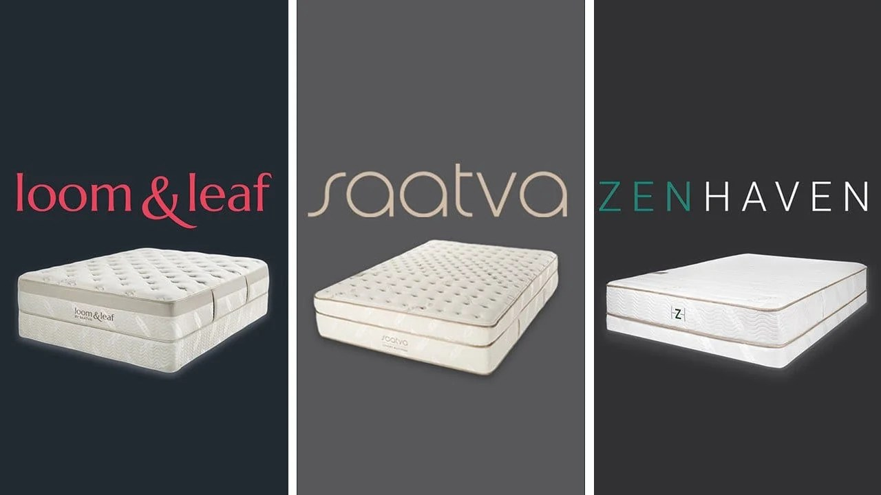 Helix Vs Loom And Leaf Loom Leaf Vs Saatva Vs Zenhaven Mattress Review
