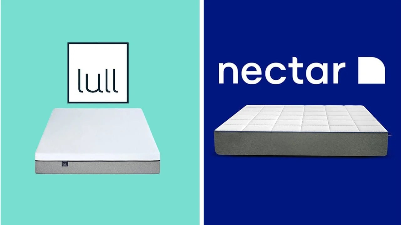 Land Of Beds Reviews Lull Vs Nectar Mattress Review Comparison Updated