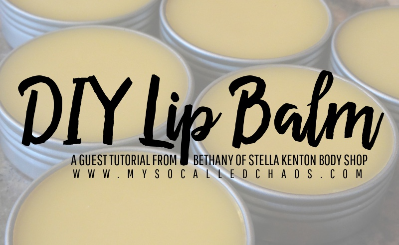 Make Your Own All Natural Lip Balm