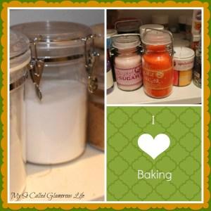 Baking Pantry collage