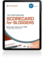 Copywriting Scorecard