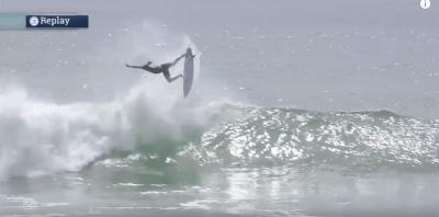 Келли Слейтер приземлил неведомый флип на серфинге