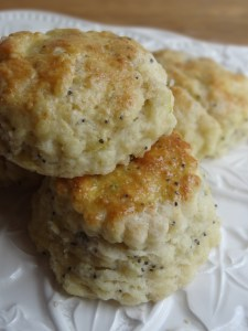 Lime Poppy Seed Scones