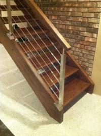 Floating Open Riser Stairway - MyStairways