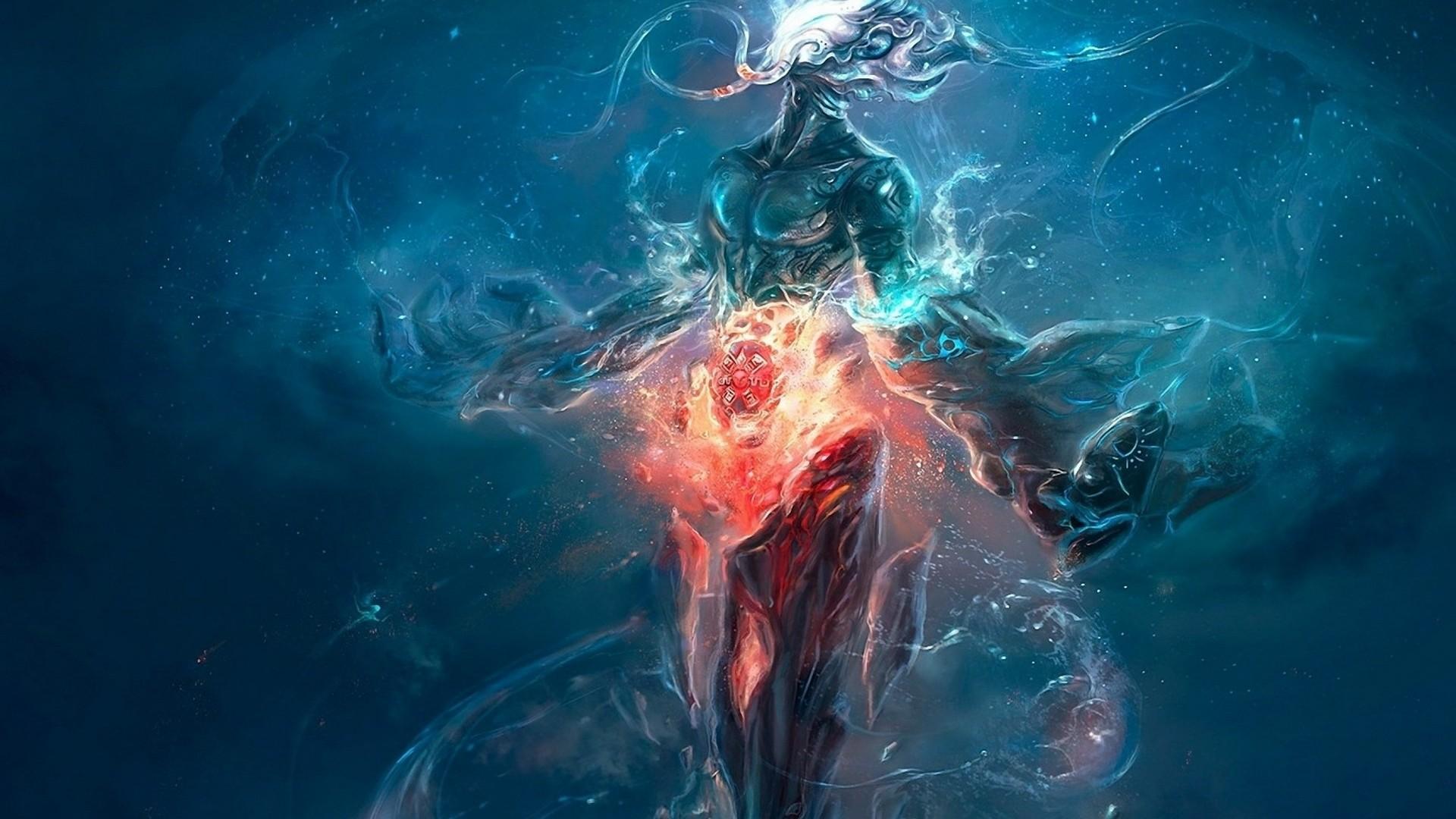 Water Falling Wallpaper Desktop Underwater Entities Mystery Of The Iniquity