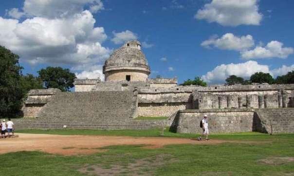 'El Observatorio', en Chichén Itzá, donde el Copérnico maya hizo su descubrimiento.