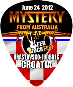 4. Guitar Pick Mystery BACK CROATIA 2