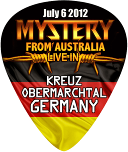 7. Guitar Pick Mystery BACK GERMANY NEW