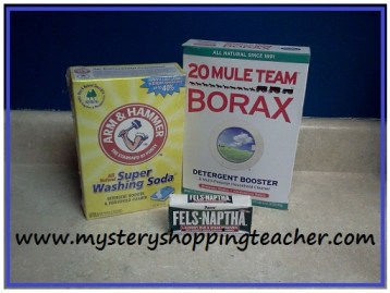 make my own laundry detergent