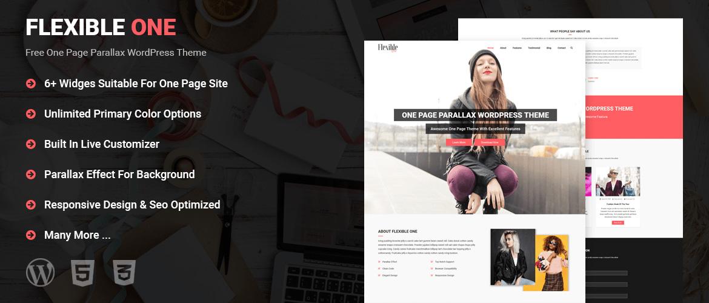 One Page WordPress Theme Free, Best Free WordPress Themes - best free wordpress templates