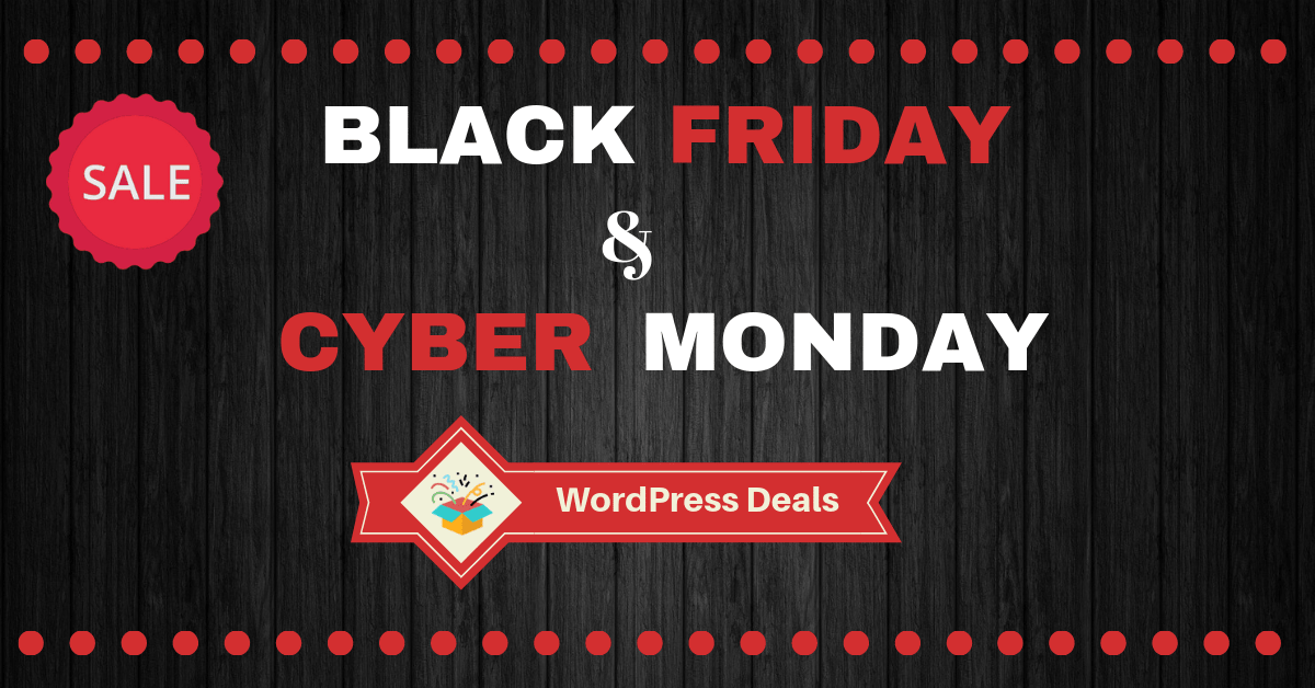 Beste Black Friday Deals Best Black Friday And Cyber Monday Wordpress Deals 2018